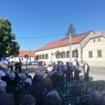 In Nadasch wurde der Opfer der Weltkriege gedacht / A világháborúk áldozataira emlékeztek Mecseknádasdon