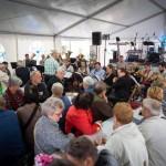 Kulturális csoportok szórakoztatták a tatai Német Nemzetiségi Múzeum sördélutánjának vendégeit szeptember 17-én / Kulturgruppen unterhielten die Gäste des vom Ungarndeutschen Landesmuseum organisierten Biernachmittages am 17. September