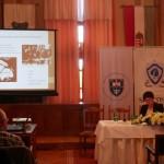Dr. Marianna Bagyinszky sprach über Mikrogeschichtliche Bezüge der Aussiedlungen und der Vertreibung im Komitat Bekesch