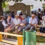 Színes kulturális műsorral várták az érdeklődőket Mözsön / Die Gäste wurden in Mesch mit einem bunten Kulturprogramm erwartet