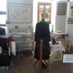 Ausstellung in der Schulaula / Kiállítás az iskola aulájában