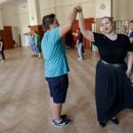 Egy igazi sváb tájszólásban énekelt német nóta mellett természetesen a táncé volt a főszerep