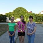 Die hervorragendsten Leistungen erzielten Petra Kübler und Zita Haris mit der Unterstützung ihrer Lehrerin Katalin Umenhoffer-Hirth (Foto: hajosiiskola.hu)