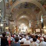 Német nyelvű misét tartottak Baján / Deutsche Messe in Baje