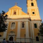 A Barátok temploma / Die St. Antonius Kirche