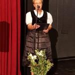 Csics Edit, a  Krottendorf Német Hagyományőrző Egyesület elnöke