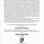 Josef Karl Wennesz erhielt den Josef-Gungl-Preis