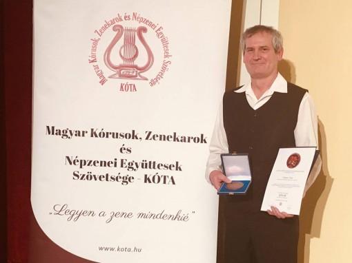 Kóta-díjat kapott Németh Tibor