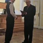 Németh Tibor KÓTA-díjat kapott / Tibor Németh erhielt den KÓTA-Preis