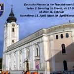 A Ferencesek Templomában tartják idéntől a Pécsi Német Miséket