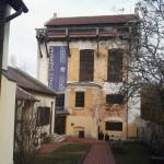 A pápai Kékfestő Múzeum épülete / Das Gebäude des Blaufärbermuseums in Pápa (Fotó: Ament Éva)
