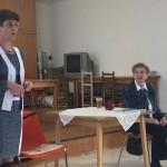 Theresia Szauter (l.) und Maria Schön (r.) führten das Projekt über alte Straßennamen mit Erfolg zu Ende
