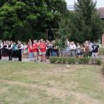 In Anwesenheit der Teilnehmenden des Welttreffens der Donauschwaben kam es zum Tauffest der Ulmer Schachtel in Baje