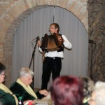 Auch Knopfharmonikakünstler aus Hajosch wirkten mit.