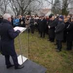 Parlamentsabgeordneter Emmerich Ritter erinnerte an die Opfer der Vertreibung und Verschleppung