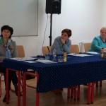Amreinné Pesti Ágnes, dr. Tóth Ágnes és Englenderné Hock Ibolya / Agnes Amrein-Pesti, Dr. habil. Ágnes Tóth und Ibolya Hock-Englender