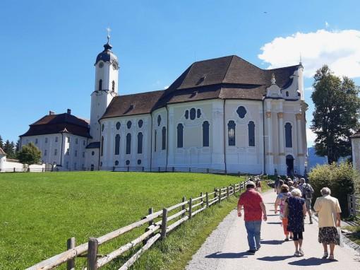 Auf dem Weg zu der Wieskirche