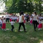 "Die Gruppe ""Bärchen"" des Wunderland Kindergartens in Seksard / A szekszárdi Wunderland Óvoda ""Maci"" csoportja"