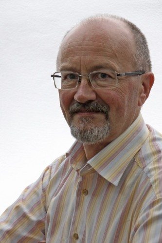 Balthasar Waitz Das rote Akkordeon. Foto des Autors