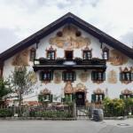 Bemalte Fassade in Oberammergau