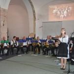 A mecseknádasdi Alte Kameraden Fúvószenekar / Alte Kameraden Blaskapelle aus Nadasch