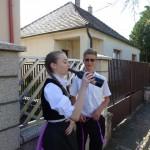 Pünkösdvasárnapi ünnepség Bajon