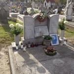 Schilling Roger sírja / Das Grab von Roger Schilling