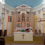 A dunakömlődi templom / Die Kirche in Kimling