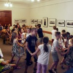 A pénteki táncbemutató / Die Tanzaufführung am Freitag