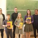 Az irodalmi német kategória 5-6. osztályos korosztályának helyezettjei / Platzierte der Kategorie Hochdeutsch 5.-6. Klasse