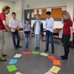 """""""Deutsch mal anders"""" – kunterbunter Sprachwettbewerb an der Audi Hungaria Schule  (Foto: AHS)"""