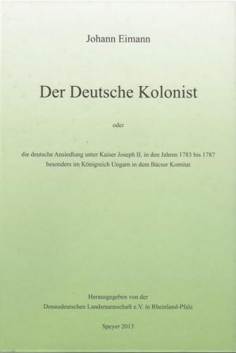 Der Deutsche Kolonist 1