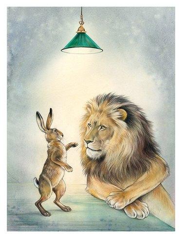 Der Löwe und der Hase