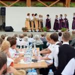 Die Tanzgruppe Edle Blumen aus Aldebrő (Foto: István Schmidt)