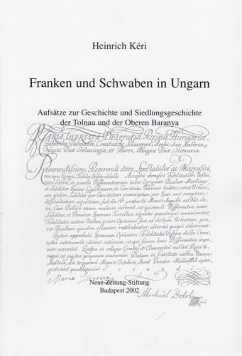 Franken und Schwaben borító