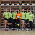 Die Mädels von Sankt Martin beim GJU-Fußballturnier 2020 / A szigetszentmártoni lánycsapat a GJU 2020-as focikupáján
