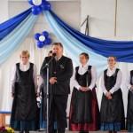 Gerlinger Tibor köszönti a vendégeket / Tibor Gerlinger begrüßt die Gäste (Fotó: Pats Krisztina)