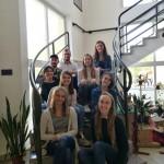 Neun Studenten der Friedrich-Alexander-Universität Erlangen-Nürnberg absolvierten ihr Praktikum in der Bohler Schule.