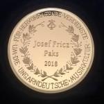 Josef Fricz erhielt den Josef-Gungl-Preis