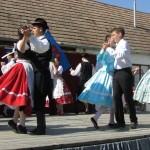A gyönki Grüne Wiese Tánccsoport és a varsádi Remény Tánccsoport közös tánca / Gemeinsames Tanz der Tanzgruppen Grüne Wiese  (Jink) und Hoffnung (Waschad)