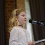 Emili Reil, Gewinnerin der Kategorie Hochdeutsch - Klasse 1-2