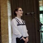 Renáta Megyesi, Gewinnerin der Kategorie Mundart - Klasse 9-12
