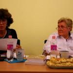 Dzsotján-Krajcsir Piroska felolvas / Piroska Dzsotján-Krajcsir liest vor