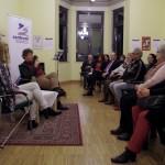 Pódiumbeszélgetés a művészekkel / Podiumsgespäch mit den Künstlern