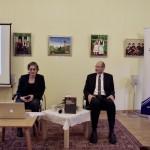 Cora Dietl és Balogh F. András / Cora Dietl und András F. Balogh