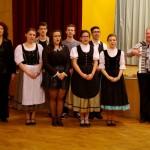 Der Chor des Deutschen Nationalitätengymnasiums und Gábor Kaltenecker / A Német Nemzetiségi Gimnázium  kórusa és Kaltenecker Gábor