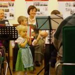Sax Norina elbűvölte a közönséget / Norina Sax verzauberte das Publikum