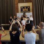 A 13. országos német nemzetiségi szavalóverseny döntőjén / Beim 13. Landesfinale des Ungarndeutschen Rezitationswettbewerbs