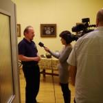 Unser Bildschirm-interjú Mayer Istvánnal / Unser Bildschirm interviewte István Mayer