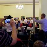 A Heimat tánccsoport  Hercegkútról érkezett / Heimat-Tanzgruppe aus Trautsondorf